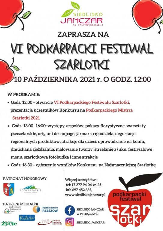 VI Podkarpacki Festiwal Szarlotki - zapraszamy!