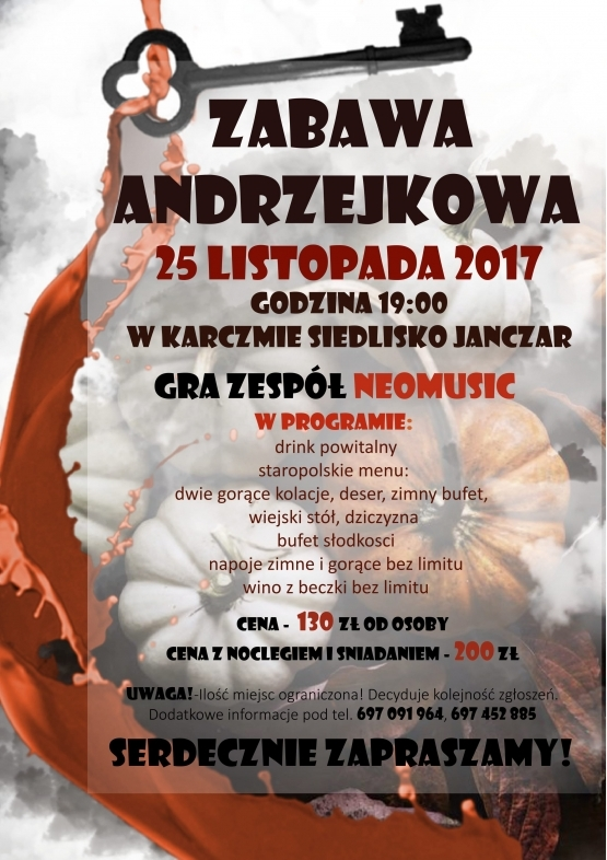 Andrzejki 2017 w Rzeszowie